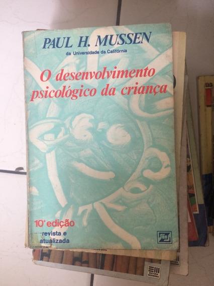 Livro O Desenvolvimento Psicologico Da Criança