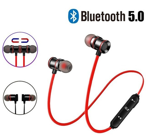 Audifonos Bluetooth Manos Libre Sport Magnético Recargable