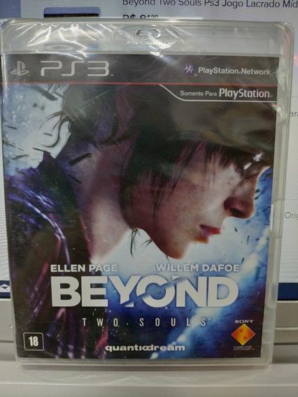 Jogo Beyond Two Souls Playstation 3, Mídia Física, Lacrado