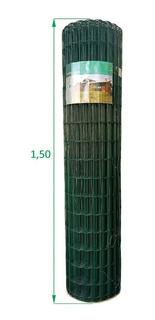 Tela Soldada E Revestida Em Pvc 1,5 X 25 M Promoção