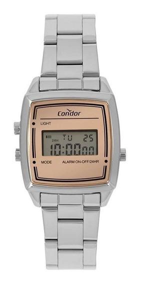 Relógio Condor Feminino Mini Prata