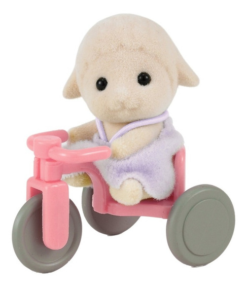 Sylvanian Families - Sheep Baby W Tricycle (4561)