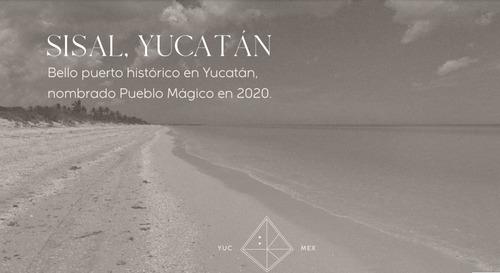 Imagen 1 de 16 de Terreno En Privada Con Club De  Playa En Sisal , Yucatán