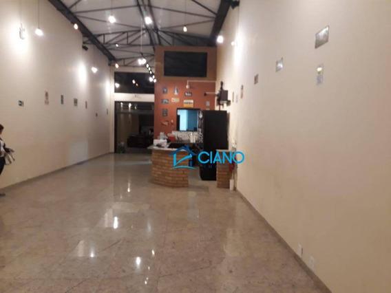 Salão Para Alugar, 185 M² Por R$ 4.500/mês - Mooca - São Paulo/sp - Sl0140