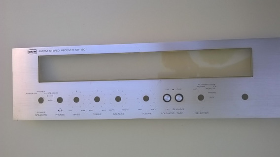 Painel Frontal Receiver Cce Sr-180 Comp. Gradiente, Polyvox.
