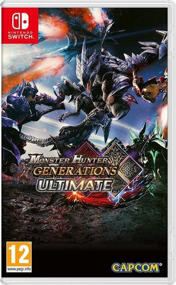 Monster Hunter Generations Ultimate Switch Eshop Usa