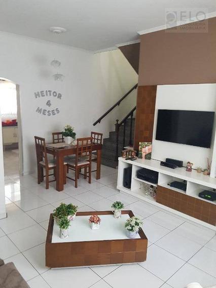 Casa Residencial À Venda, Vila Ponte Nova, Cubatão. - Ca0256
