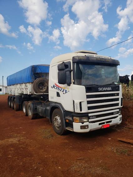 Scania 124g 360 2003 + Caçamba 2012