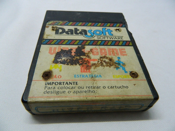 River Raid Original Datasoft P/ Atari - Loja Centro Rj