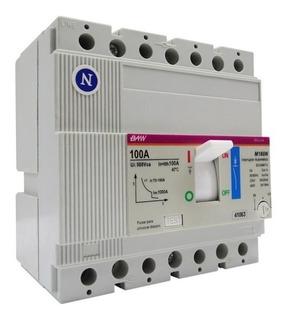 Interruptor Termomagnetico Compacto 4 X 70 - 100 A Baw
