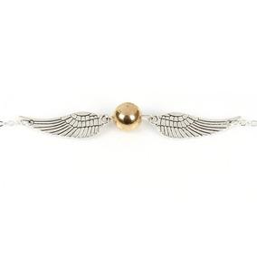 Bracelete Pomo De Ouro Quadribol - Harry Potter