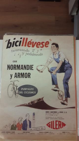 Poster Publicidad Bicicletas Gilera