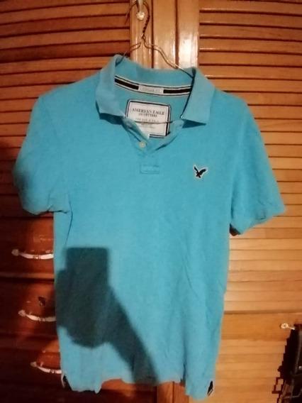 Paquete Playera Y Sweater Sueter American Eagle Y Camisa