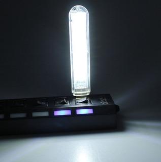 Luz Usb Foco Focos Led Lampara Iluminación Emergencia Noche