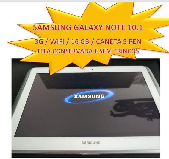 Tablet Samsung Galaxy Note 10.1 3g + Wi-fi + Caneta 16gb
