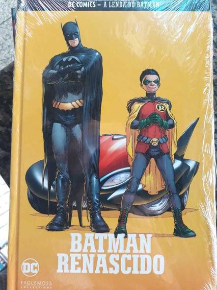 Coleção A Lenda Do Batman Ediçao 6 Renascido