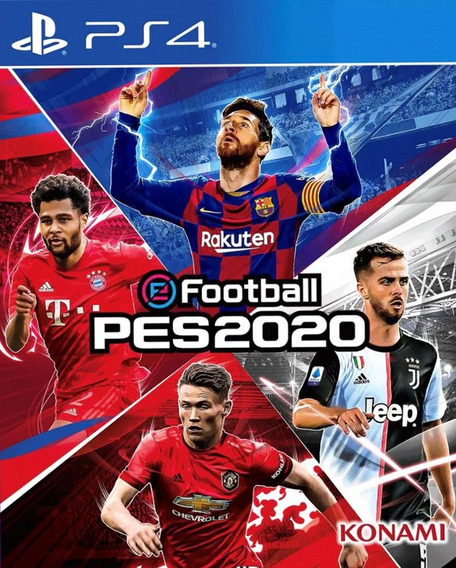 Efootball Pes 2020 Ps4 Konami - Original - Mídia Física