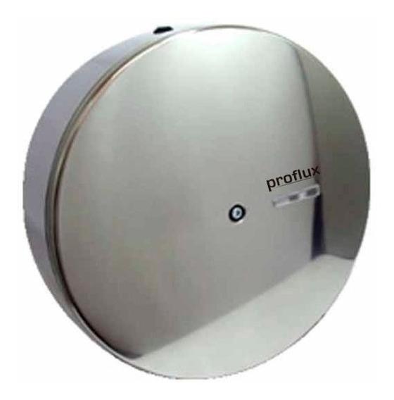 Suporte Dispenser Inox De Papel Higiênico 400mts Com Trava