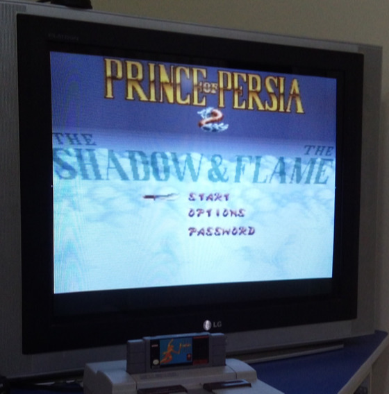 Prince Of Persia 2 Cartucho De Super Nintendo Snes