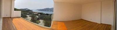 Cad Residencial La Joya 102. Promoción. Terraza Con Vista A La Bahía De Puerto Marques
