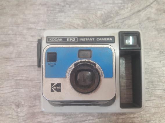 Camera Polaroide Antiga Kodak Ek2 Instant