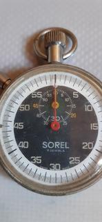 Cronômetro Mecânico Sorel 7 Jóias, Suiço