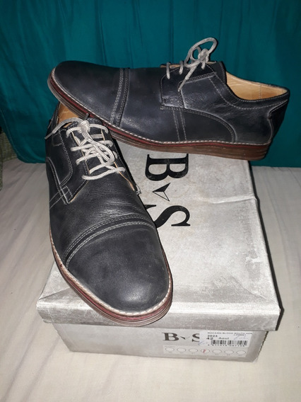Zapatos Gris Azulado Hombre Talle 42