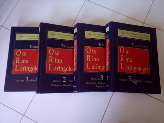 Tratado De Otorrinolaringologia Vol 2 Doenças Otologia... #