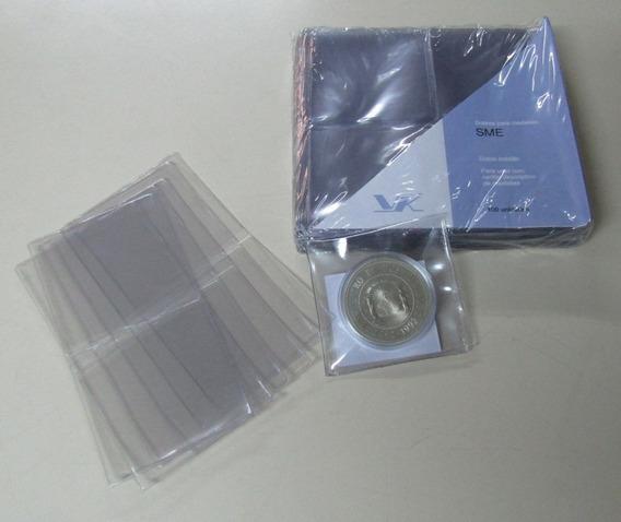 100 Sobres Protectores Vk Sme Para Monedas O Medallas