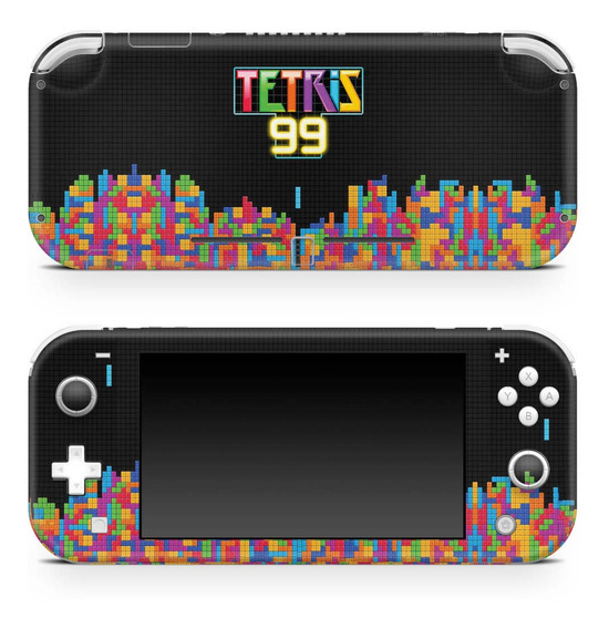 Skin Nintendo Switch Lite Adesivo Tetris 99