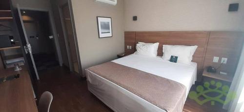 Imagem 1 de 11 de Flat Com 1 Dormitório À Venda, 21 M² Por R$ 200.000,00 - Centro - São José Dos Pinhais/pr - Fl0010