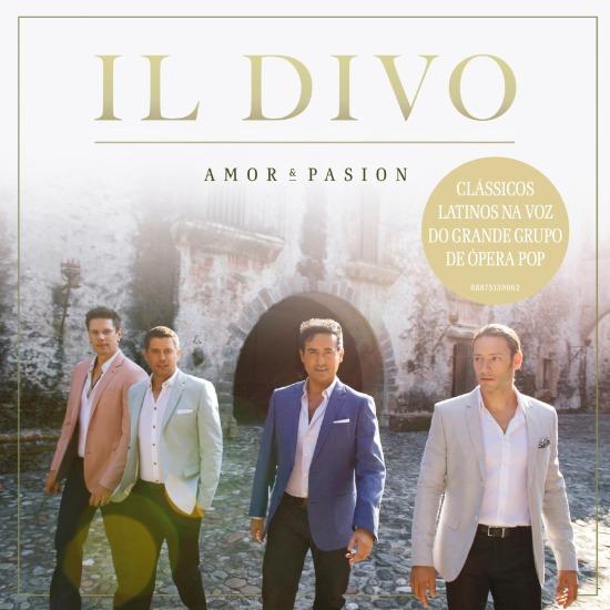 Cd Il Divo - Amor & Pasion + Dvd Live In London
