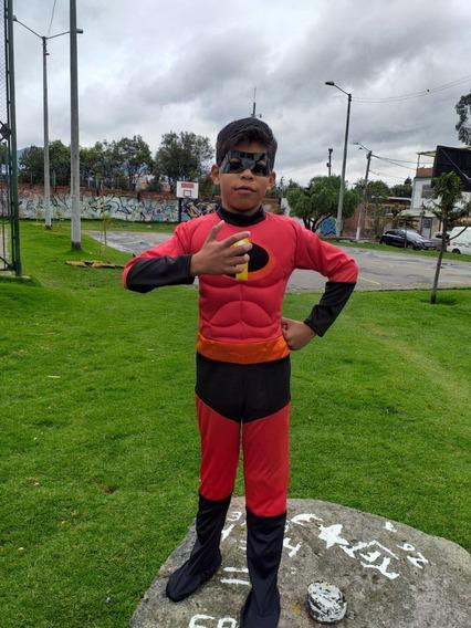 Disfraz Para Niño Increibles 30 Verd Importado