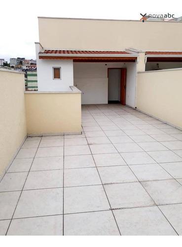 Imagem 1 de 21 de Cobertura Com 2 Dormitórios À Venda, 61 M² Por R$ 380.000,00 - Vila Floresta - Santo André/sp - Co0432