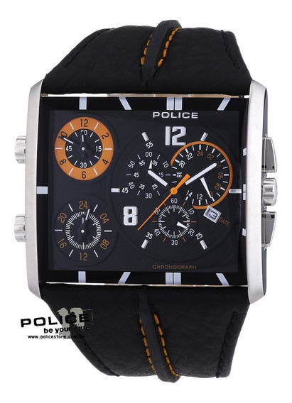Relógio Original Police TriPod Tri-time Pl13497js/02