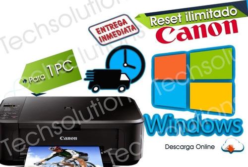 Reset Canon G2100 G2400 G3100 Ilimitado Entrega Inmediata.!