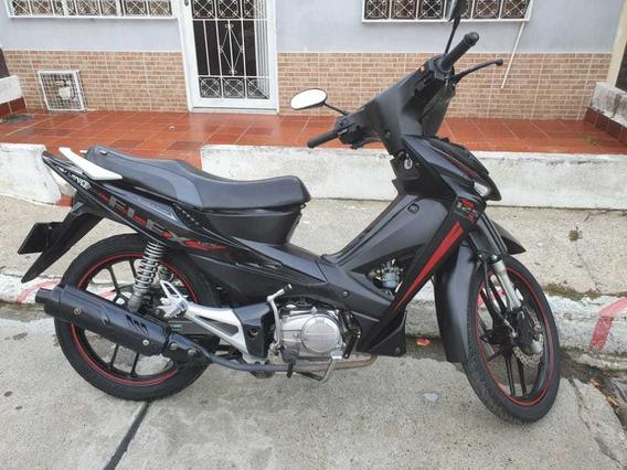 Moto Akt Flex 125 Negra Modelo 2020