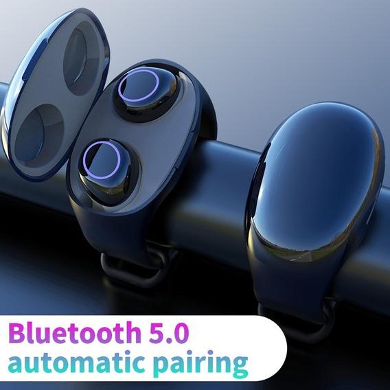 Hm50 Tws Bluetooth 5.0 Earbuds Preto