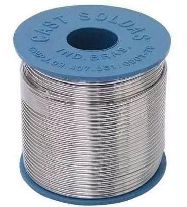 Solda Em Fio 189msx10 1.0mm 60x40 500g Azul Cast Metais