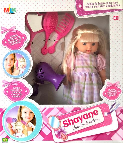 Promoção Boneca Shayane Salão De Beleza - Milk Brinquedos