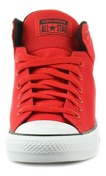 Tenis Converse Rojo Bota High Street Mid Originales