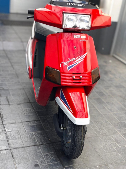 Scooter Kymco 4t 100cc (0km) Roja