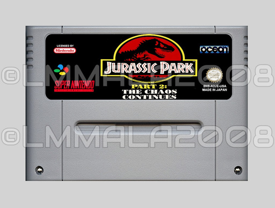 Jurassic Park 2 Th Chaos Continue Ingles Super Nintendo Snes
