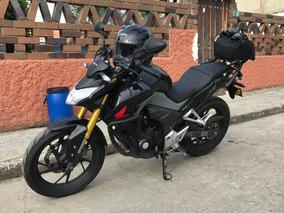 Honda Cb190r Azul Onix 21500 Km