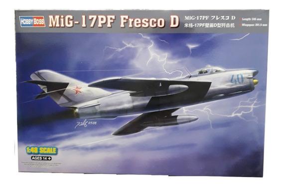 Maqueta Hobbyboss 80336 Avion Mig-17pf Fresco D Escala 1/48