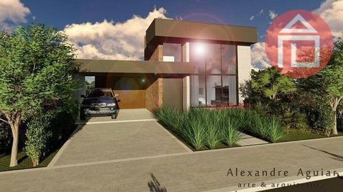 Casa Com 3 Dormitórios À Venda, 196 M² Por R$ 1.400.000,00 - Condomínio Residencial Euroville Ii - Bragança Paulista/sp - Ca2875