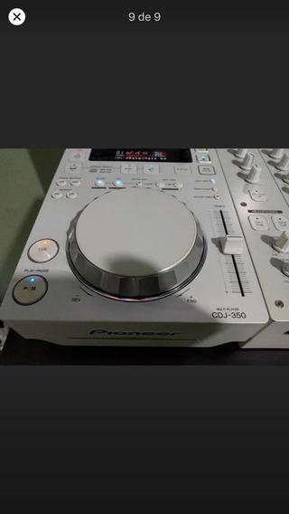 Cdj 350 Branca + Mixer 350 Branco