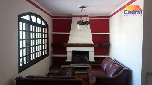 Sobrado Com 3 Dormitórios À Venda, 300 M² Por R$ 520.000,00 - Conjunto Habitacional São Sebastião - Mogi Das Cruzes/sp - So0386