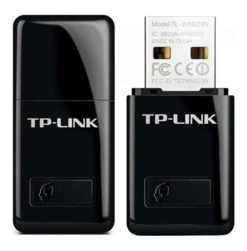 Mini Adaptador Wireless Usb 300mbps Tl-wn823n Tp-link