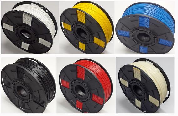 Filamento Abs 175mm Premium - Alto Teor De Pureza 1kg Cores